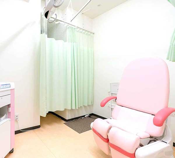 東京八重洲クリニック婦人科診察室