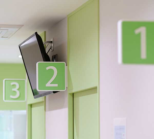 東京八重洲クリニック診察室入口